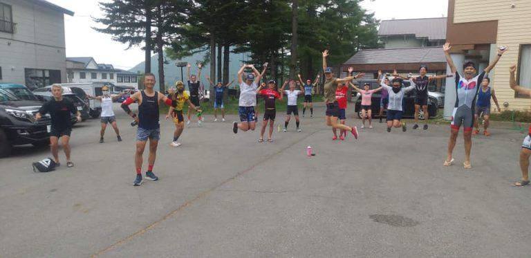 トライアスロンメディアLuminaコラボ「TKバイクキャンプ高地トレーニング 湯の丸高原」を開催しました